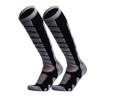 WEIERYA Ski Socks (2 Pairs)