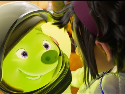 """Netflix's new movie """"Over The Moon"""" stars a blob named Gobi who your kids are sure to love."""