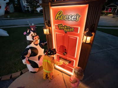 Reese's robotic trick-or-treat door offers fans of all ages a safe and no-contact means of enjoying a beloved Halloween tradition amid the ongoing coronavirus pandemic.