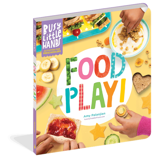 'Busy Little Hands: Food Play!' is a new cookbook for kids featuring no-cook recipes kids can make themselves.