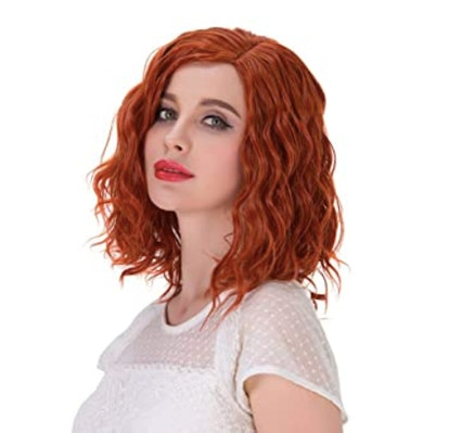Alacos Curly Red Wig