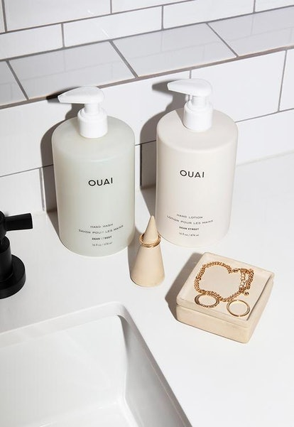OUAI's hand care line features soap, creams, and even jewelry dishes.