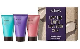 AHAVA Naturally Silky Hands Mineral Hand Cream Set