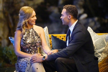 Clare Crawley & Dale Moss on night one of 'Bachelorette' filming via ABC's press site