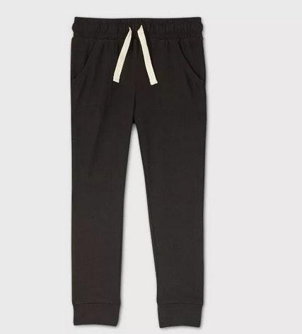Gray 6 Boys Sweety Girls Harem Style Pull-On Super Soft Sweat Pants Zipped Trousers