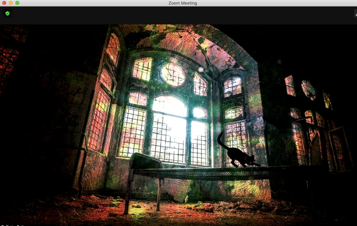 16 haunted house zoom backgrounds for a spooky virtual party.