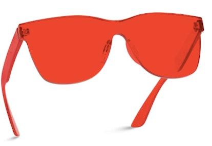 WearMe Pro Red Sunglasses