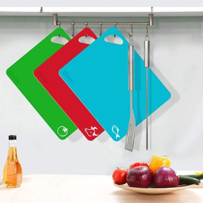 Olivivi Thick Labeled Cutting Boards (6-Pack)