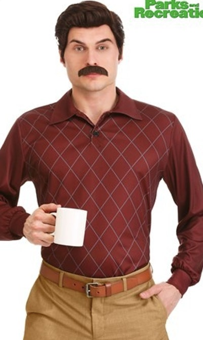 Parks and Recreation Ron Swanson Costume