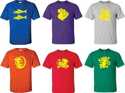 Legends of the Hidden Temple Shirt