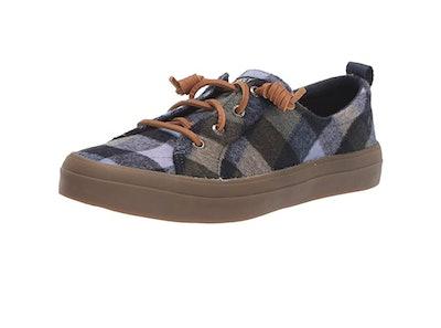 Sperry Women's Plaid Wool Sneaker