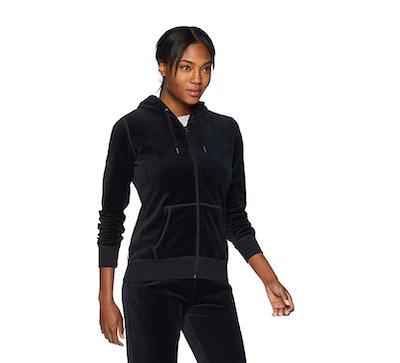 Starter Women's Velour Track Jacket