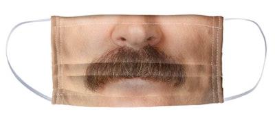 Parks and Recreation Ron Swanson Moustache Mask