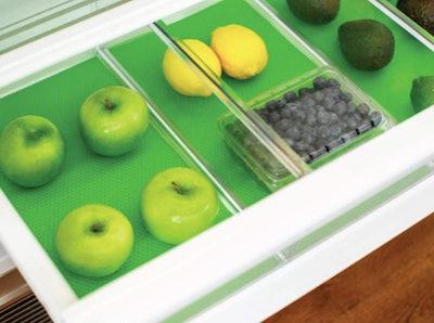 Gorilla Grip Premium Antibacterial Refrigerator Shelf Liner