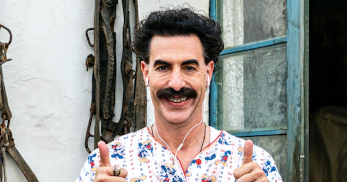 'Borat 2' review: The first great movie of the coronavirus era