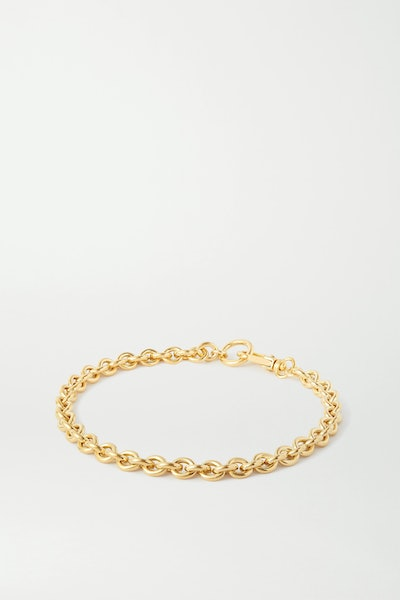 Gold Cable Gold-Plated Necklace
