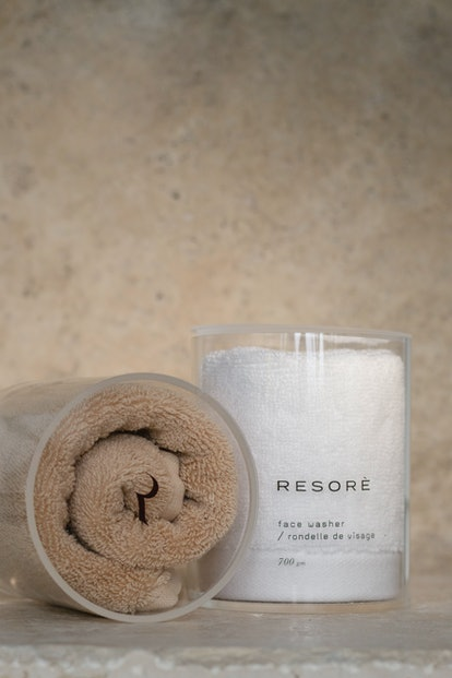 RESORÈ is launching a body towel and facial cloth.