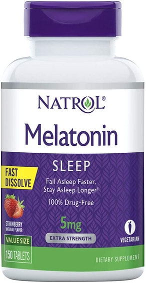 Natrol Melatonin 5mg Fast Dissolve Tablets (150-Count)