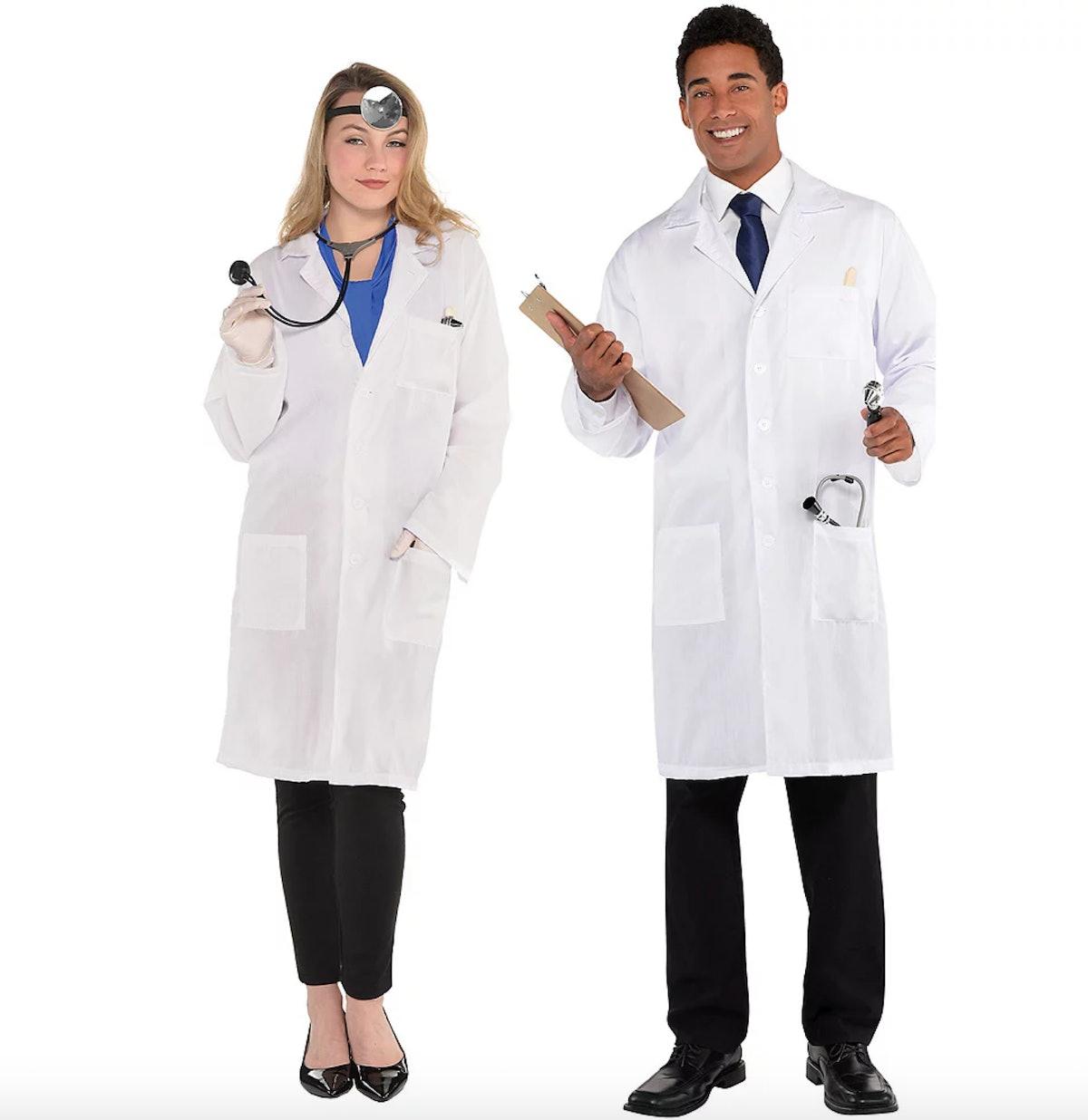 Moira Rose wore a lab coat on 'Schitt's Creek' to portray Dr. Clara Mandrake.