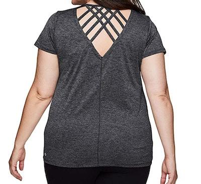 RBX Active Plus-Size Yoga T-shirt
