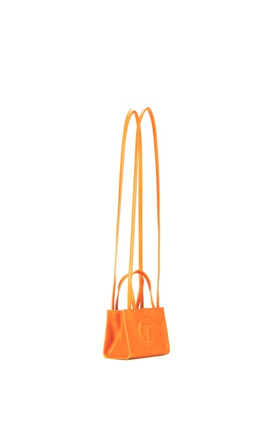 Small Orange Shopping Bag