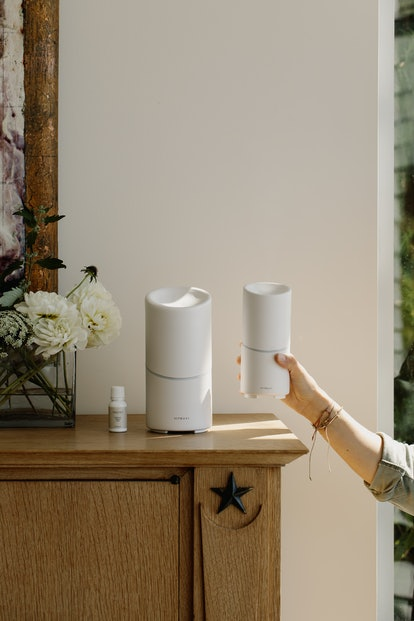 vitruvi's Move and Stay Diffusers bring the brand's design-centric vessels to a new level