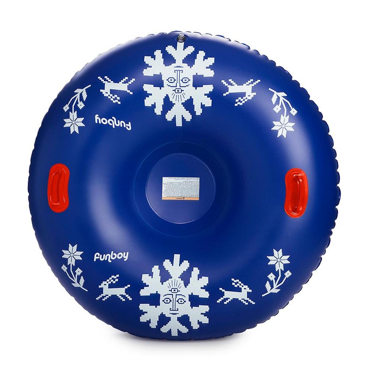 Inflatable Winter Snow Tube   Snowflake