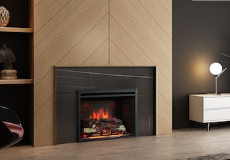 PuraFlame 33-Inch Western Electric Fireplace Insert