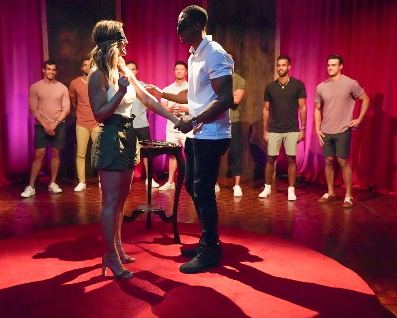 Riley shares the love language of touch with Clare on 'The Bachelorette' via ABC Press Site