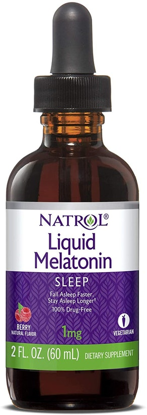Natrol Liquid Melatonin Tincture (2 Ounces)