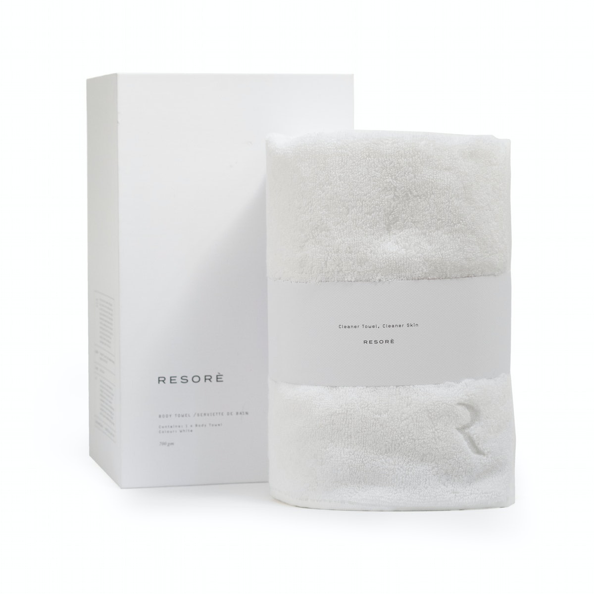 Body Towel - White