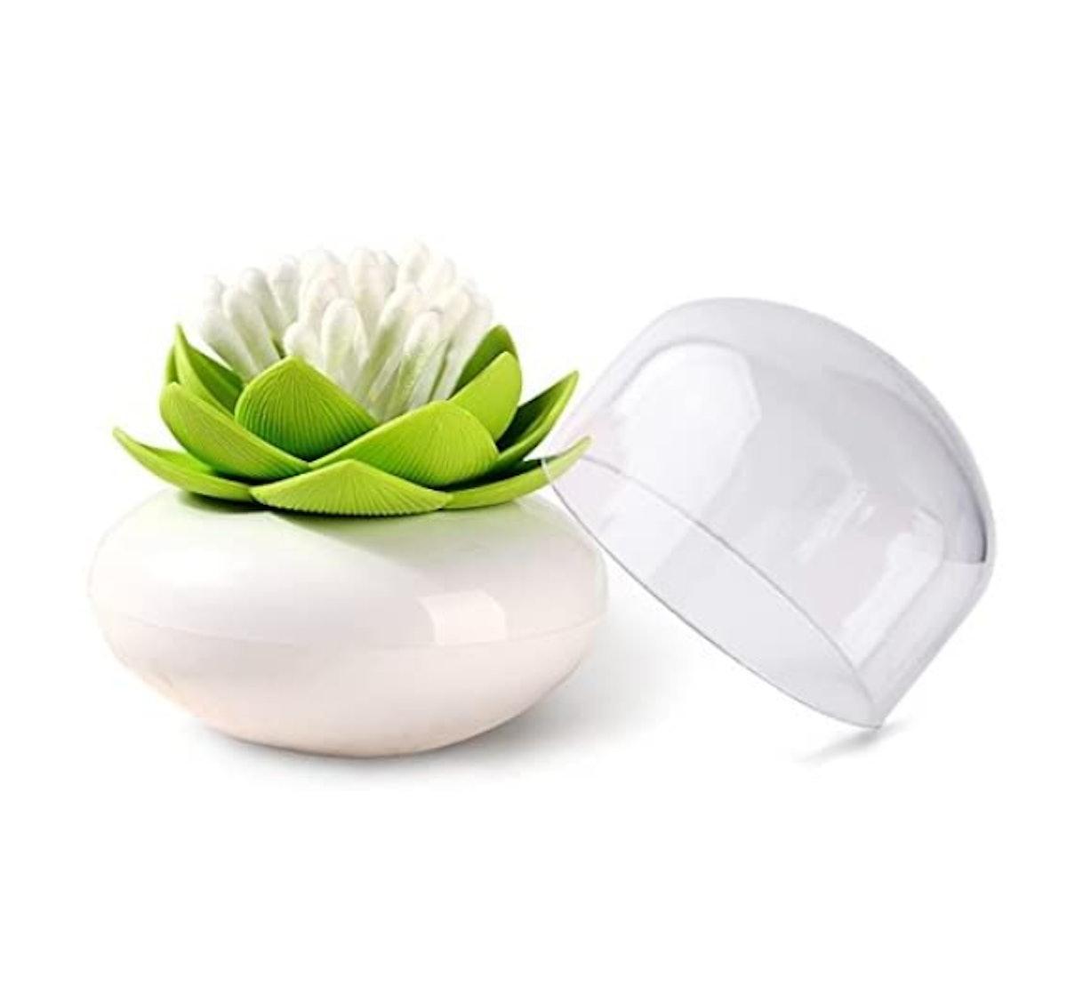 MelonBoat Lotus Cotton Swab Holder