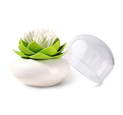 MelonBoat Lotus Cotton Swab Holder