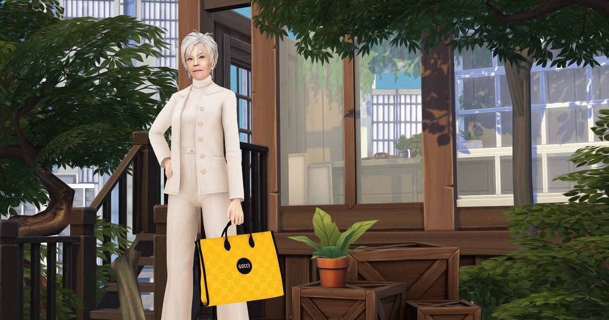 Gucci's Sustainable Off The Grid Collection Is Now Available For Sims 4