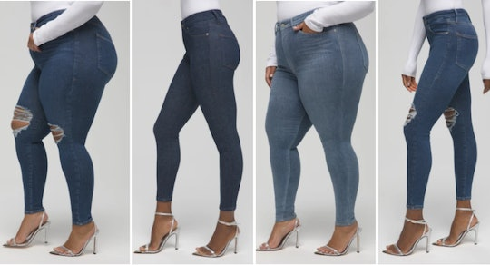 Good American Always Fits Jeans options