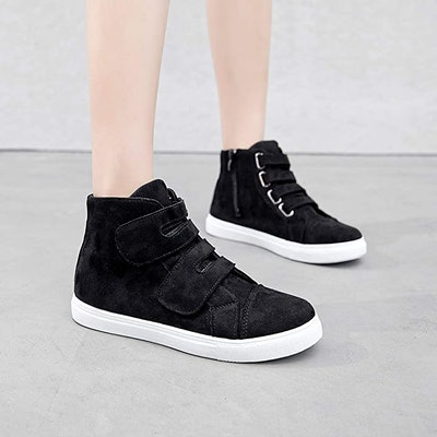 Adokoo Womens High Top Sneaker