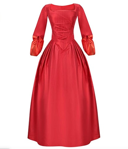 Cos-Love Women's Colonial Lady Corset Styled Dress Victorian Rococo Ball Gown