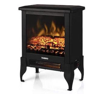 TURBRO Suburbs TS17 18-Inch Compact Electric Fireplace