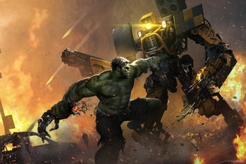 marvel's avengers game hulk