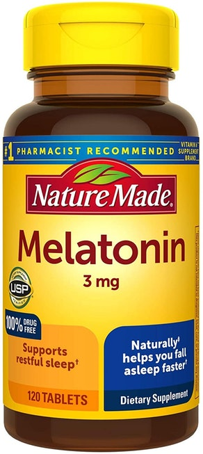 Nature Made Melatonin 3mg Tablets (120-Count)