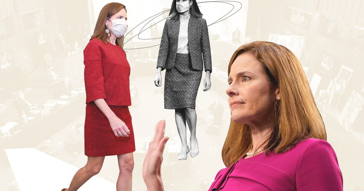 Amy Coney Barrett May Be Sending This Secret Message With Her Fashion