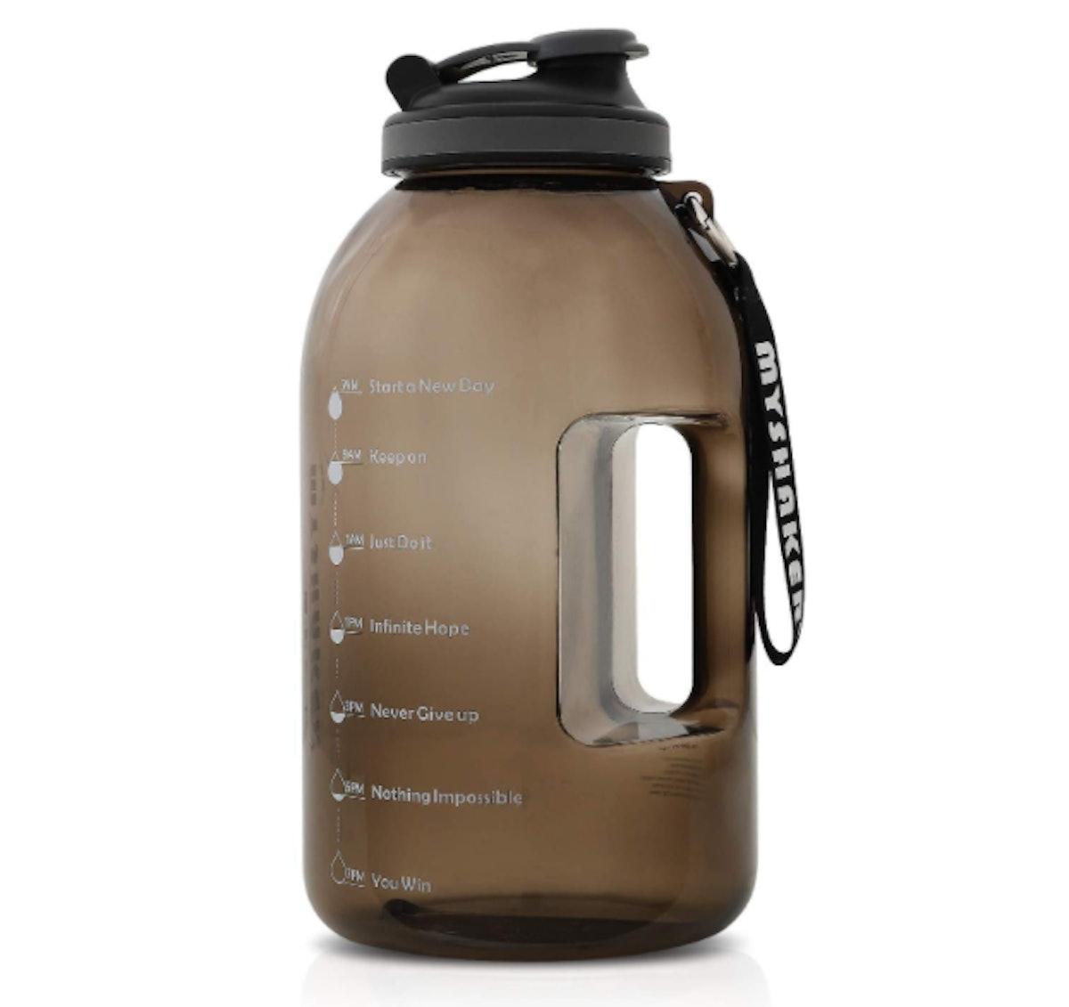 MYSHAKER 1 Gallon Water Bottle