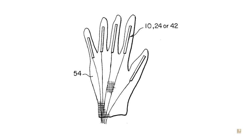 George Zimmerman Power Glove Patent