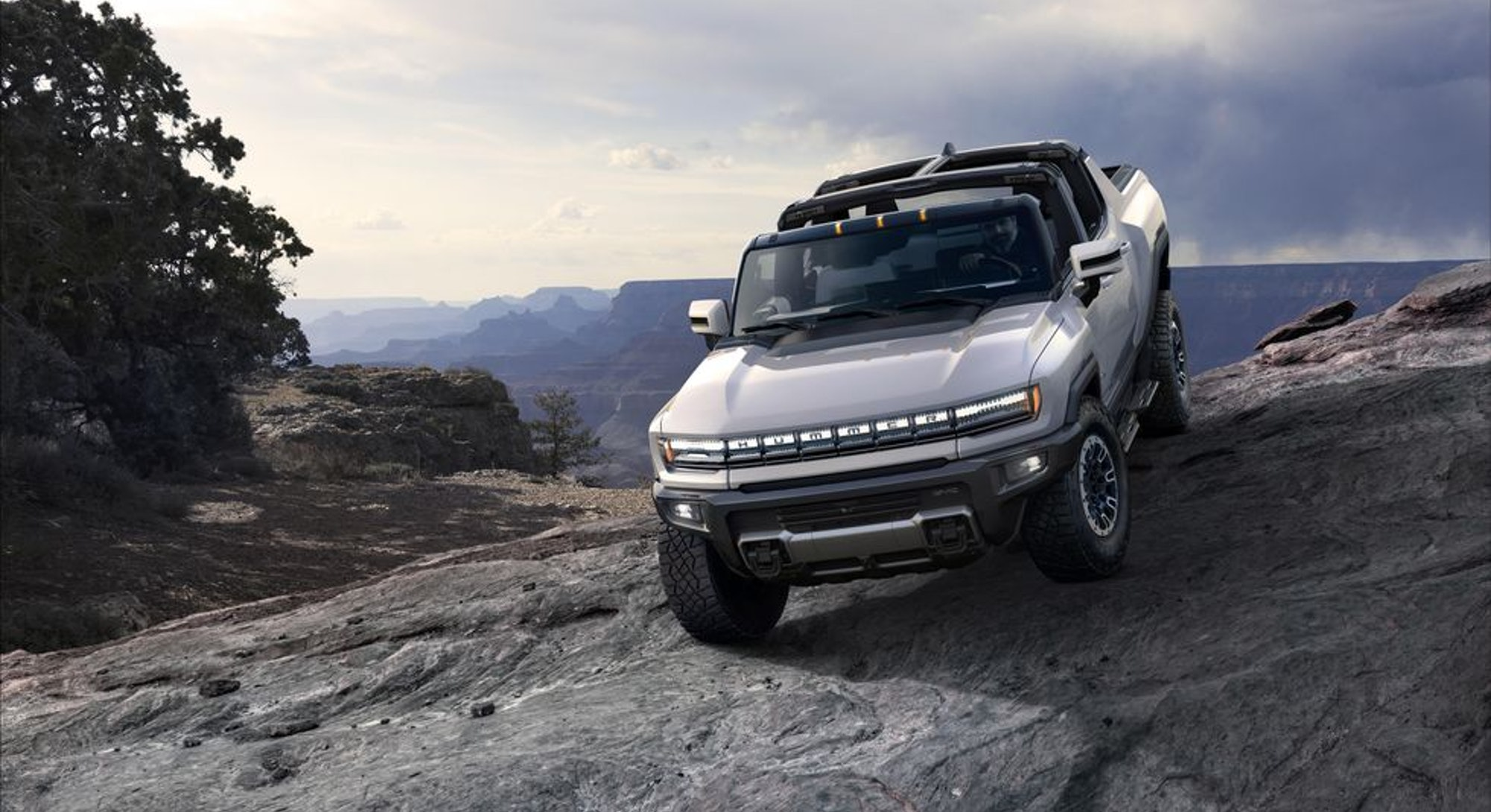 GMC's all-electric Hummer