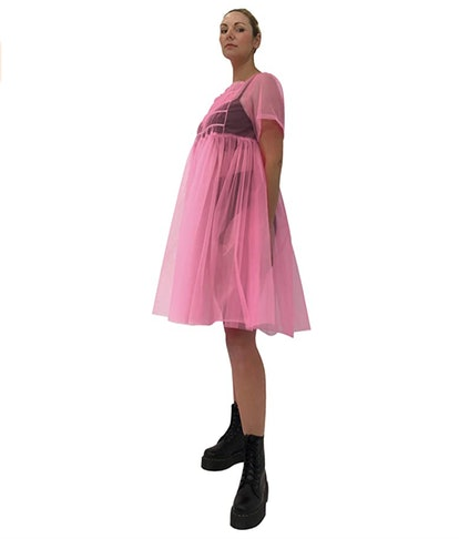 Rasta Imposta Cosplay Villain Pink Dress Costume