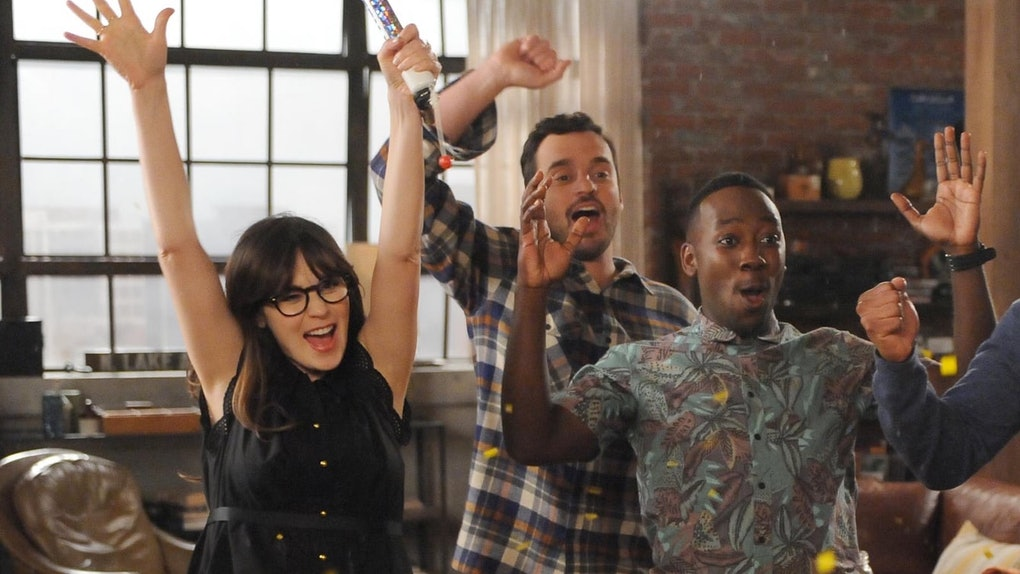 'The cast of 'New Girl' reunited for a voting PSA on Instagram.