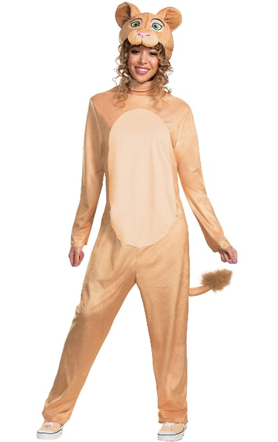 Lion King Women's Nala Jumpsuit Costume