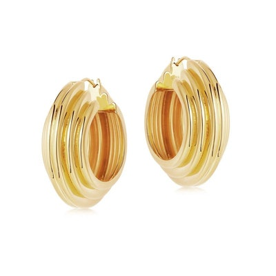 Lucy Williams Gold Hoops