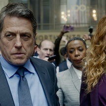 Hugh Grant and Nicole Kidman in 'The Undoing,' via HBO press site.