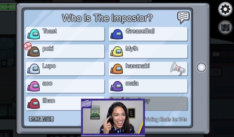 AOC on Twitch